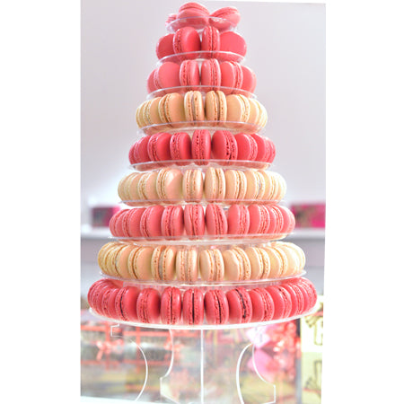 Astonishing Macaron Tower Mille Feuille Bakery Personalised Birthday Cards Paralily Jamesorg