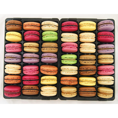 Platter of 42 Macarons
