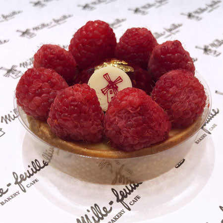 Vanilla Raspberry Passion Tart