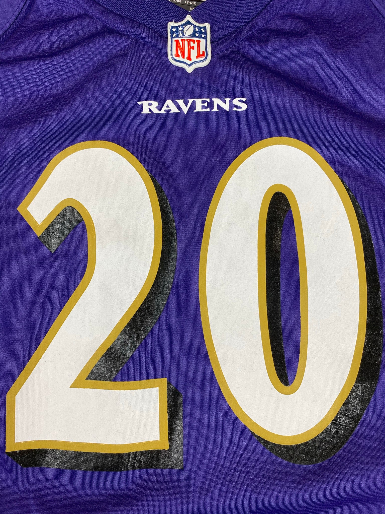 Nike Baltimore Ravens Ed Reed NFL jersey (YL/S) – The Retro Recovery