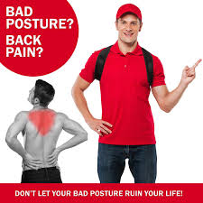 Relieve back pain with posture corrector