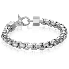 Load image into Gallery viewer, MEN'S SILVER LINK BRACELET - MICHAEL K. JEWELERS