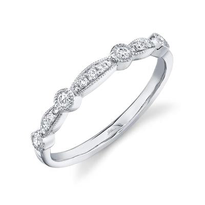 VINTAGE STYLE DIAMOND BAND - MICHAEL K. JEWELERS