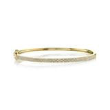 Load image into Gallery viewer, ROSE GOLD DIAMOND BANGLE - MICHAEL K. JEWELERS