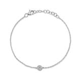 Load image into Gallery viewer, DIAMOND PAVE CIRCLE BRACELET - MICHAEL K. JEWELERS