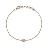 DIAMOND PAVE CIRCLE BRACELET - MICHAEL K. JEWELERS