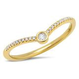 Load image into Gallery viewer, CHEVRON DIAMOND RING - MICHAEL K. JEWELERS
