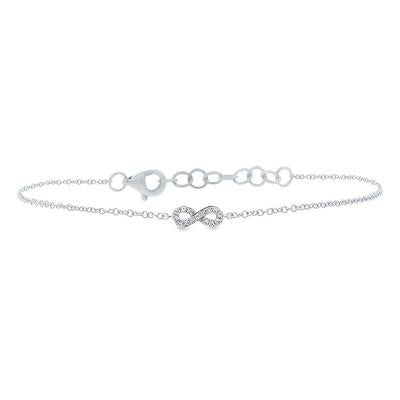 DIAMOND INFINITY BRACELET - MICHAEL K. JEWELERS
