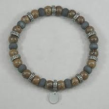 Load image into Gallery viewer, WOOD BEAD BRACELET - MICHAEL K. JEWELERS