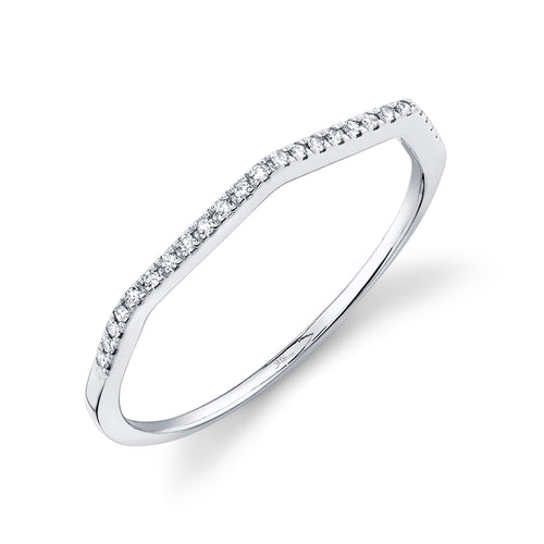 SLANTED BAR DIAMOND RING - MICHAEL K. JEWELERS