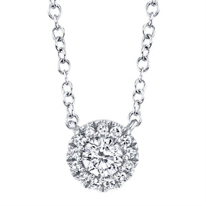 CLASSIC GOLD DIAMOND NECKLACE - MICHAEL K. JEWELERS