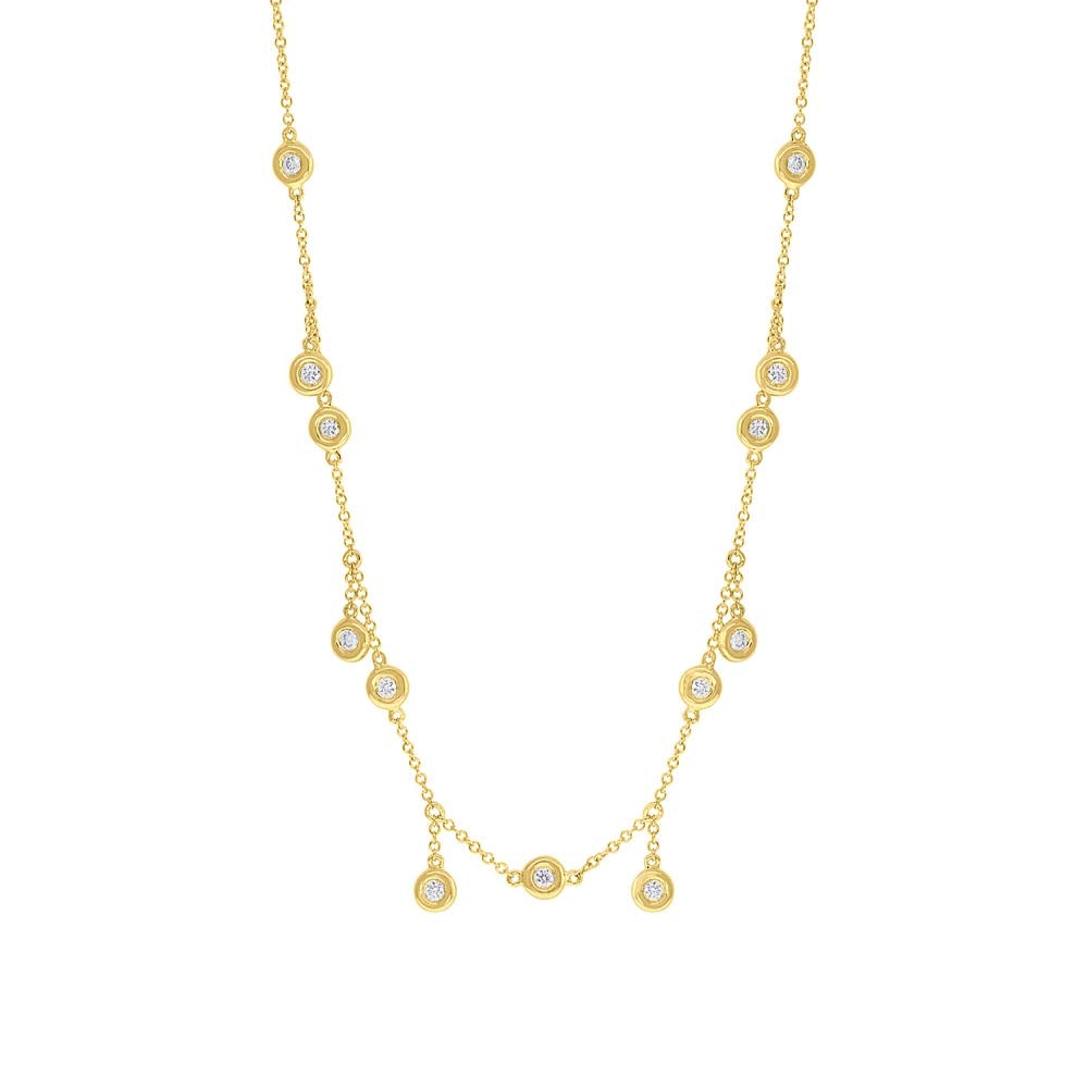 DIAMOND SHAKER NECKLACE - MICHAEL K. JEWELERS