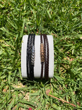 Load image into Gallery viewer, TRIPLE WRAP LEATHER BRACELET - MICHAEL K. JEWELERS