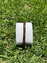 Load image into Gallery viewer, DARK BROWN LEATHER BRACELET - MICHAEL K. JEWELERS