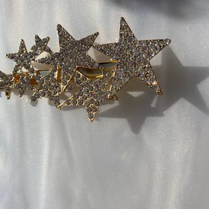 Swarovski Star Hairclip