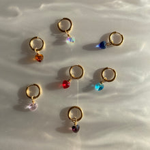 Load image into Gallery viewer, Mini Heart Earring / More Colorways