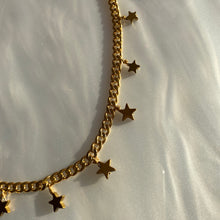Load image into Gallery viewer, Stars Charm Necklace