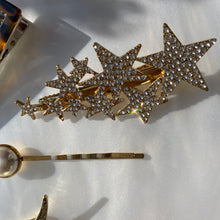Load image into Gallery viewer, Swarovski Star Hairclip
