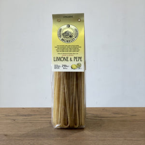 Morelli Lemon & Black Pepper Linguine - Il Fattore