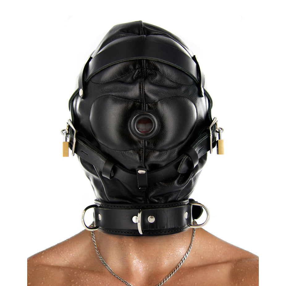 Strict Leather Strict Leather Sensory Deprivation Hood- ML SV560-ML,Hoods and Blindfolds