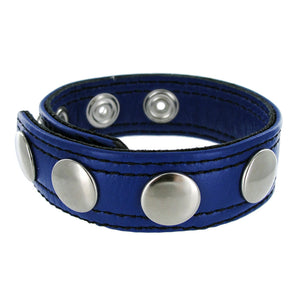 Strict Leather Strict Leather Blue Speed Snap Cock Ring AB908,Cock Rings