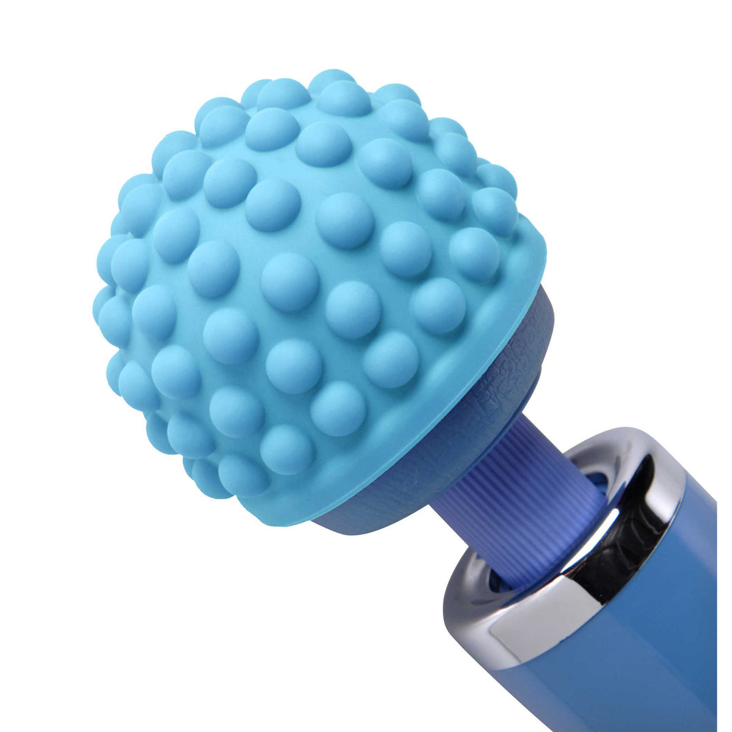 Wand Essentials Wand Essentials Blue Massage Bumps Silicone Attachment AD291-Blue,Standard Wand Massagers and Attachments