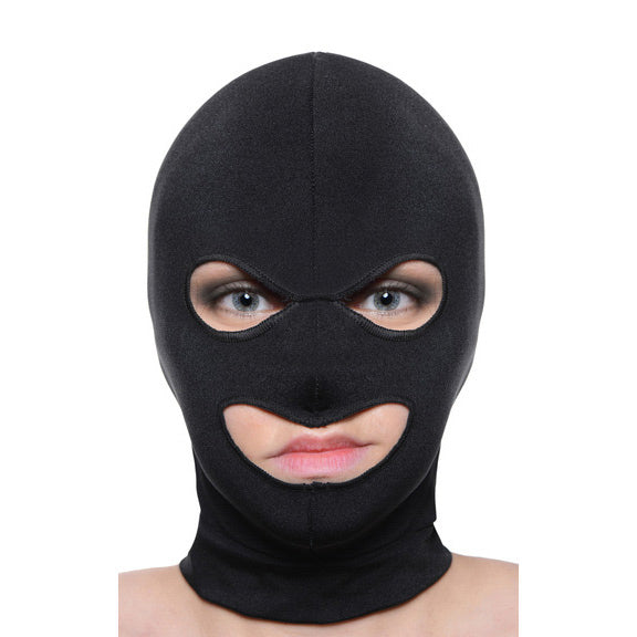 Master Series Facade Hood with Eye and Mouth Holes AD689,Hoods and Blindfolds