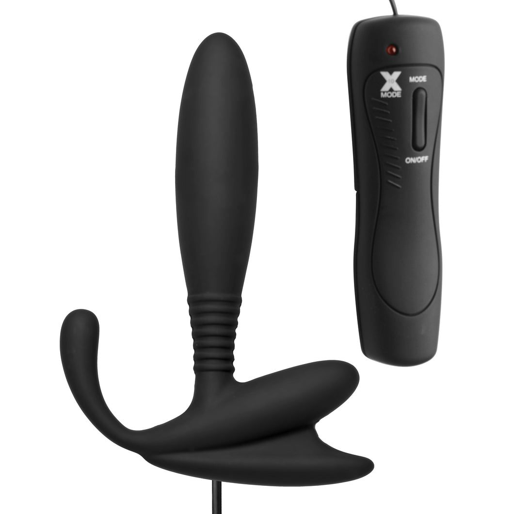 Master Series Cobra Vibrating Silicone P-Spot Massager AE155,Anal Vibrators