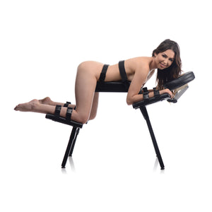 Master Series Obedience Extreme Sex Bench with Restraint Straps AF514,Gifts For Couples