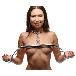 Master Series Stainless Steel Yoke with Collar and Cuffs AF525,Gifts For Couples