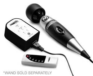 Master Series Thunder Touch 5 Speed Wireless Remote Wand Controller AF690,Wand Massager Accessories