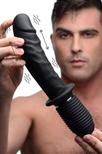 Master Series Power Pounder Vibrating and Thrusting Silicone Dildo AF911,Huge Dildos