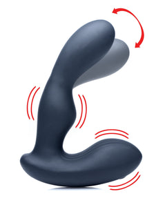 Alpha-Pro 7X P-Stroke Silicone Prostate Stimulator with Stroking Shaft AG149,Anal Vibrators