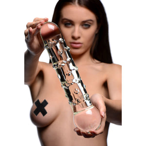 Master Series The Ram XL Dildo GI110,Glass Dildos