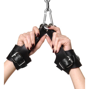 Strict Leather Strict Leather Fleece Lined Suspension Cuffs LE530,Ankle and Wrist Restraints