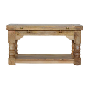 Granary Royale Trilogy Coffee Table. Beautifully hand-crafted solid wood furniture. Exclusively available at thecarpenters.co.uk.