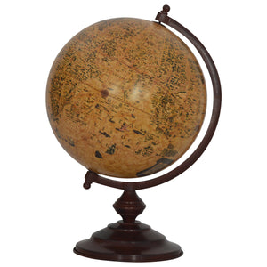 Large Vintage Globe. Decorative desk globe offers a classic antique design to any study or office. Exclusively available at thecarpenters.co.uk.
