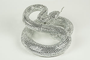 Metal Coiled Rattlesnake Figurine. Intricately finished to a very high standard and make the perfect finishing touches for the home. Exclusively available at thecarpenters.co.uk.
