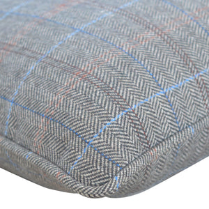 Multi Tweed Scatter Cushion
