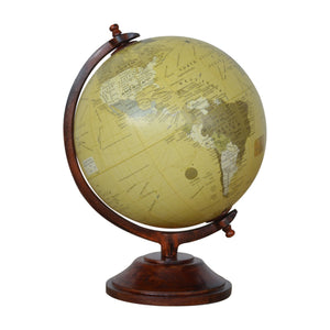 Small Vintage Globe. Add this vintage globe to your collection. Exclusively available at thecarpenters.co.uk.