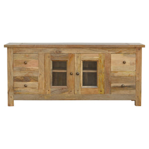 Solid Wood Royale Glazed Media Unit fabulous constructed. Exclusive solid wood available only at thecarpenters.co.uk