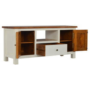 Solid wood TV Stand Country 2 Toned.Beautifull crafted, only available at thecarpenters.co.uk furniture at its finest