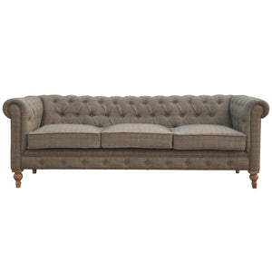 Three Seater Centurio Sofa Tweed