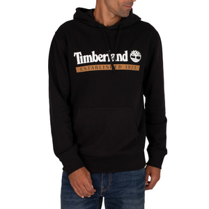 Timberland Established 1973 Pullover Hoodie - Black
