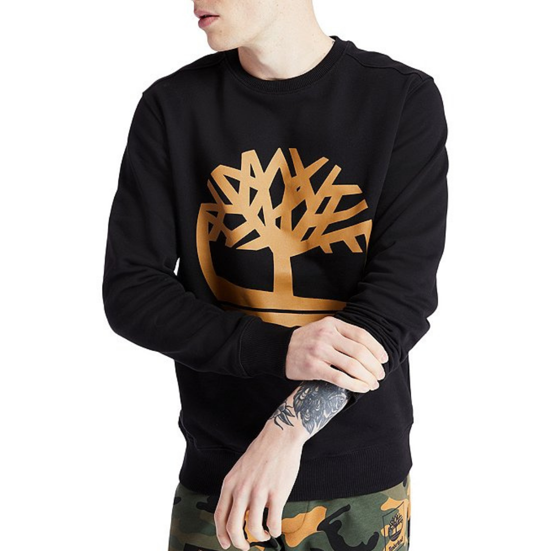 Timberland Core Tree Logo Sweatshirt - Black