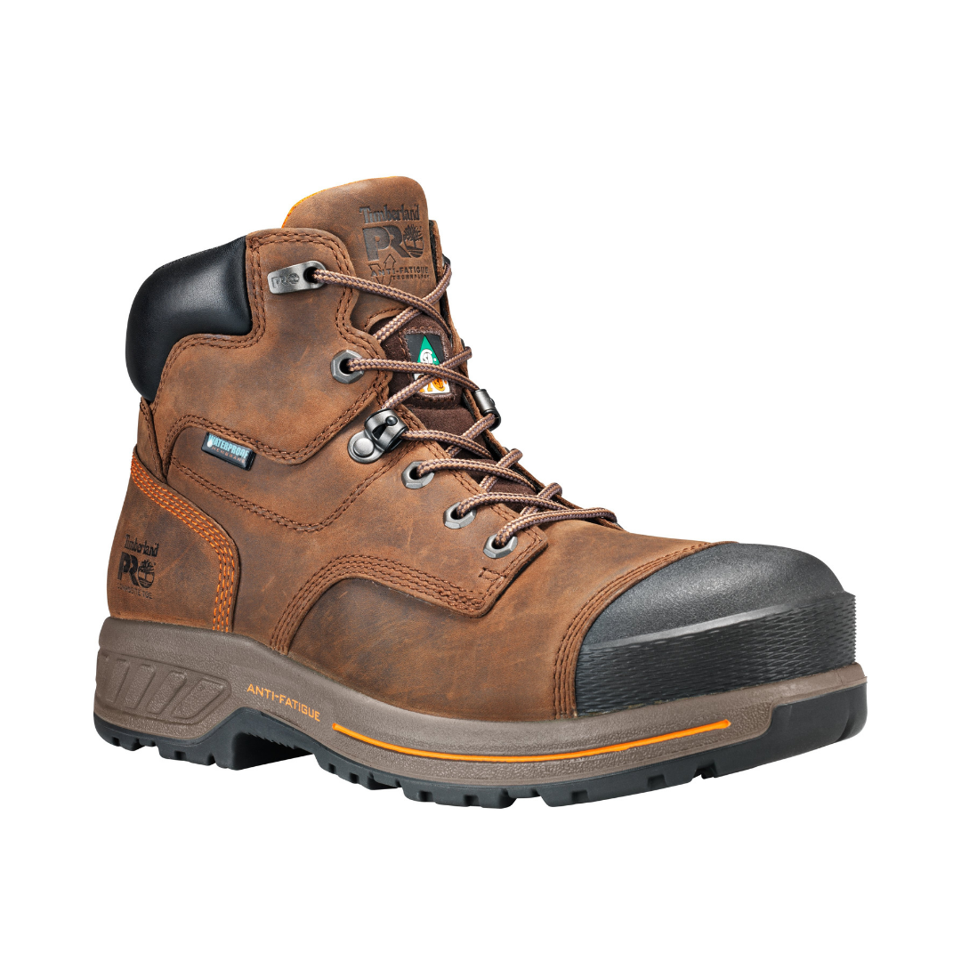 Men's ENDURANCE Brown 6-inch CSA Work Boot By TIMBERLAND