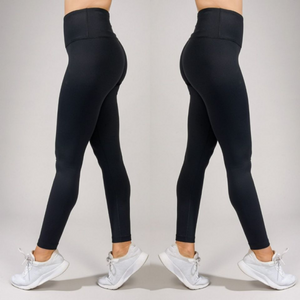 Women's Black Power Flex High Waist Legging