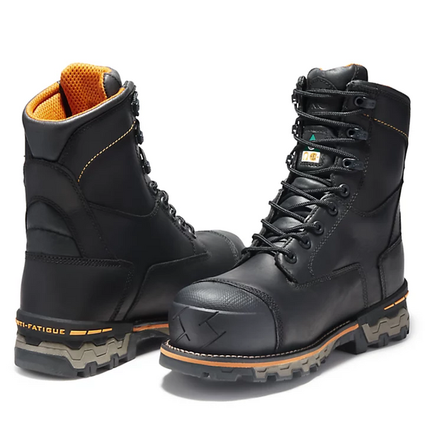Men's BOONDOCK 8-inch Black CSA Work Boot By TimberlandPRO