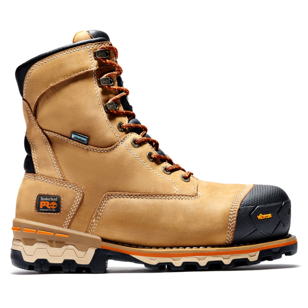 Men's BOONDOCK 8-inch Wheat CSA Work Boot By TimberlandPRO