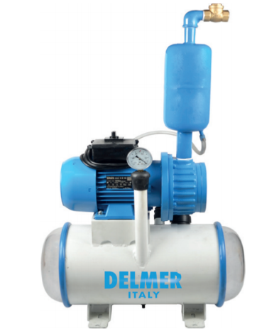 Delmer Fixed Vacuum Pump For Fixed Line Milking For 4/6 Cows And Buffalo
